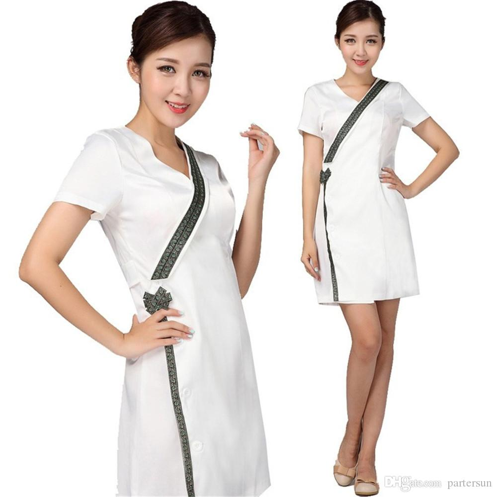 2019 uniformes hospital nursing scrubs medical clothing for Spa uniform europe