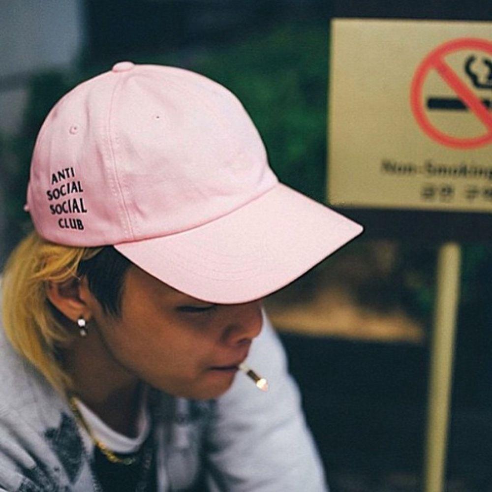 ae1ccc35b243 Korea Fashion Snapback Caps Anti Social Social Club Hat Baseball Hat Hats  For Men   WOMEN Casquette Gorras Planas Bone Aba Reta Cap Shop Flexfit Caps  From ...