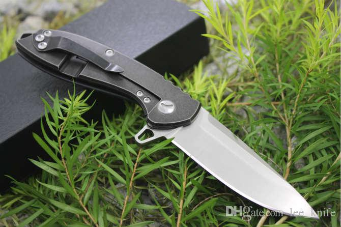Newer recommended Milky Way Skynet end D2 58-60HRC folding knife camping hunting knife folding knife