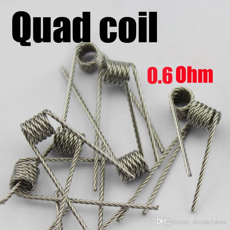 Premade Coils Flat Twisted Wire Fused Clapton Coils Hive Prebuilt ...