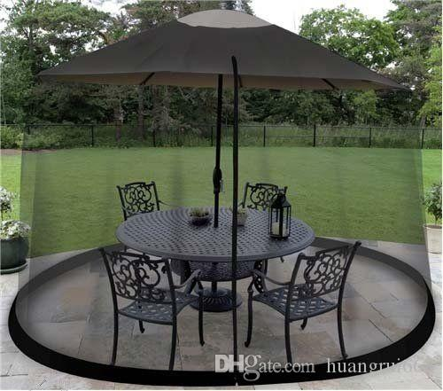Outdoor Umbrella Table Screen Black. Mosquito Bug Insect Pest Net Patio  Cover Mosquito Net Online With $38.46/Piece On Huangrui668u0027s Store |  DHgate.com