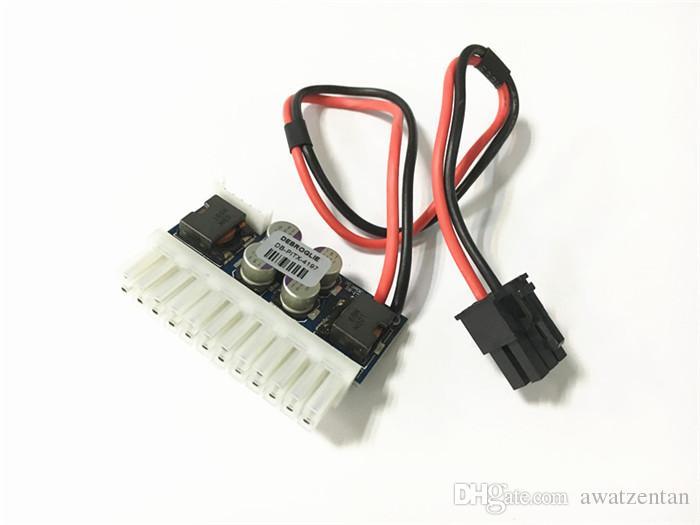 6Pin DC 12V 250W 24Pin Pico ATX Switch PSU Car Auto Mini Modulo di alimentazione ITX