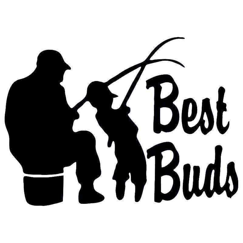 2019 Fishing Best Buds Dad Grandpa Son Vinyl Stickers Decal Car Auto Glass  From Xymy797, $3.02 | DHgate.Com