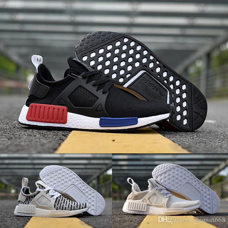 2017 ADIDAS Original NMD XR1 PK Running Shoes Cheap Sneaker Primeknit OG PK  Zebra Bred Shadow Noise Duck Camo Core Black Fall Olive Basketball Shoes  Running ...
