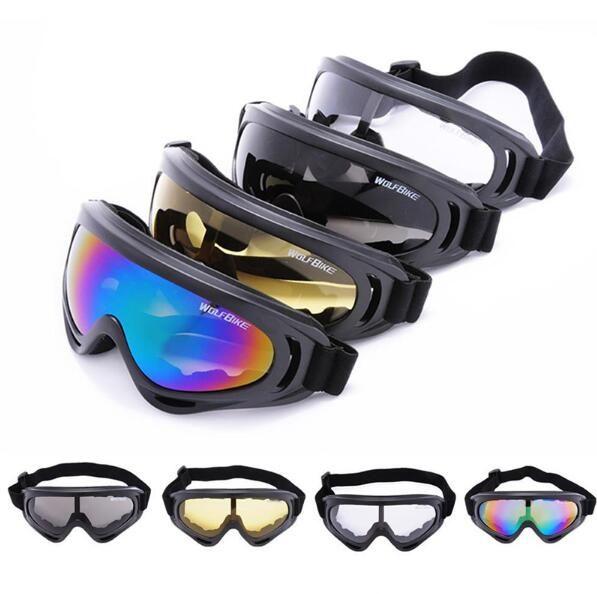 Cool Motocicleta Motocross Dirt Bike Off Road Racing Goggles Ski Snowboard Gafas de surf Airsoft Paintball Eyewear es envío gratis