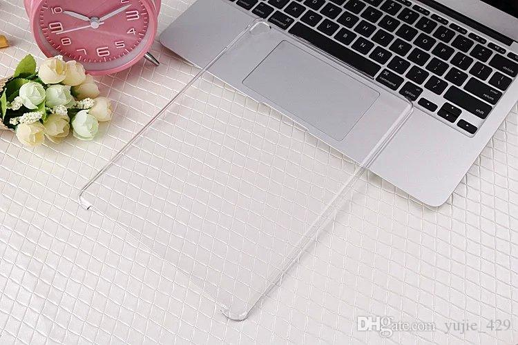 Hard Plastic Crystal Smart Cover Partner Clear Back Case For ipad Pro 9.7
