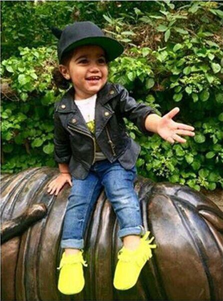 2016 top quality PU children jackets black color girl boy jacket kids fashion outwear europen girl clothing