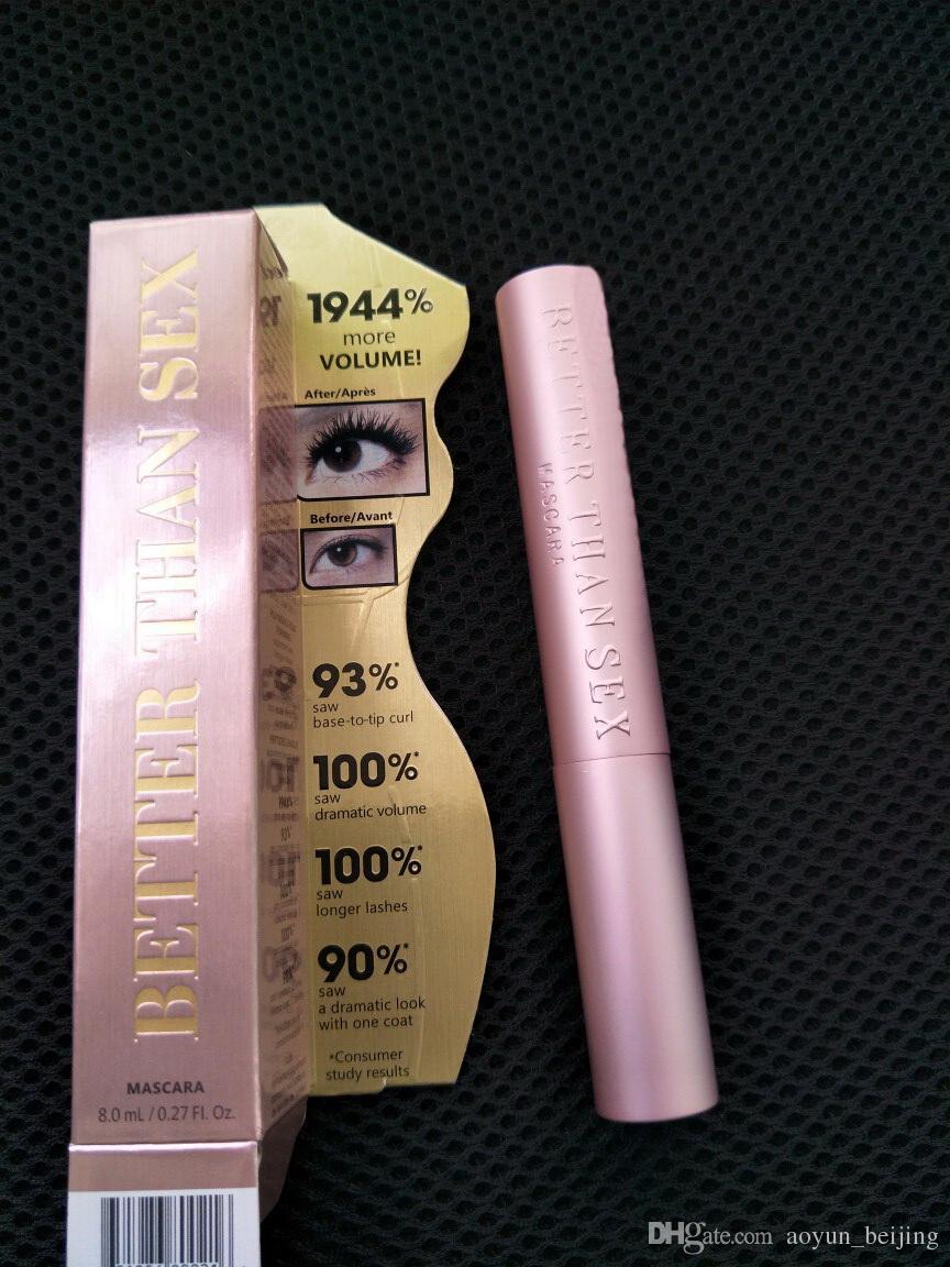 High-quality! new hot Faced Better Than sex Mascara Makeup LASH Mascara black Waterproof mascara 8ml ! dhl
