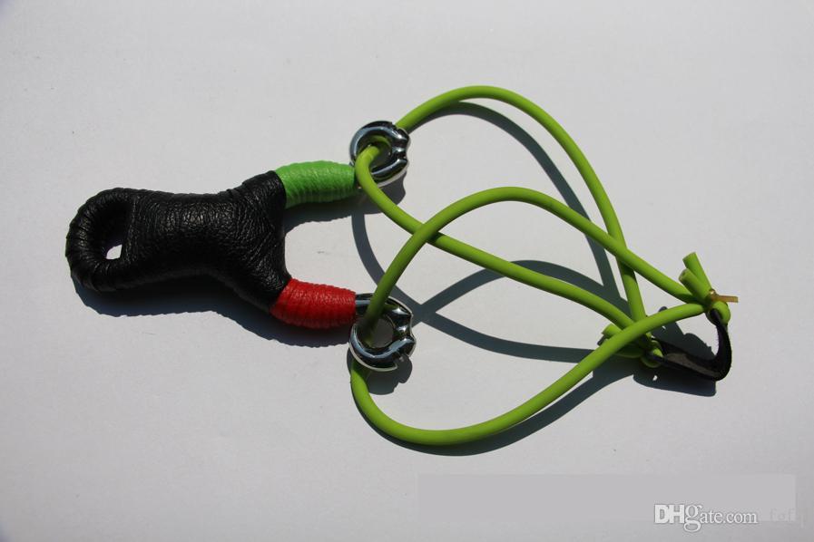 Forma de cabeza de antílope Potente Sling Shot Aleación de aluminio Slingshot Camuflaje Herramientas EDC al aire libre Sin bolas de acero Envío gratis