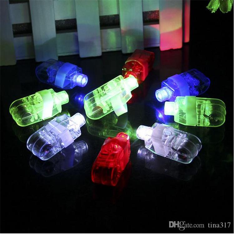 Wholesale - Magic finger lights,finger Laser Lights,finger ring light,LED Christmas Lights,toy Lamp 2726