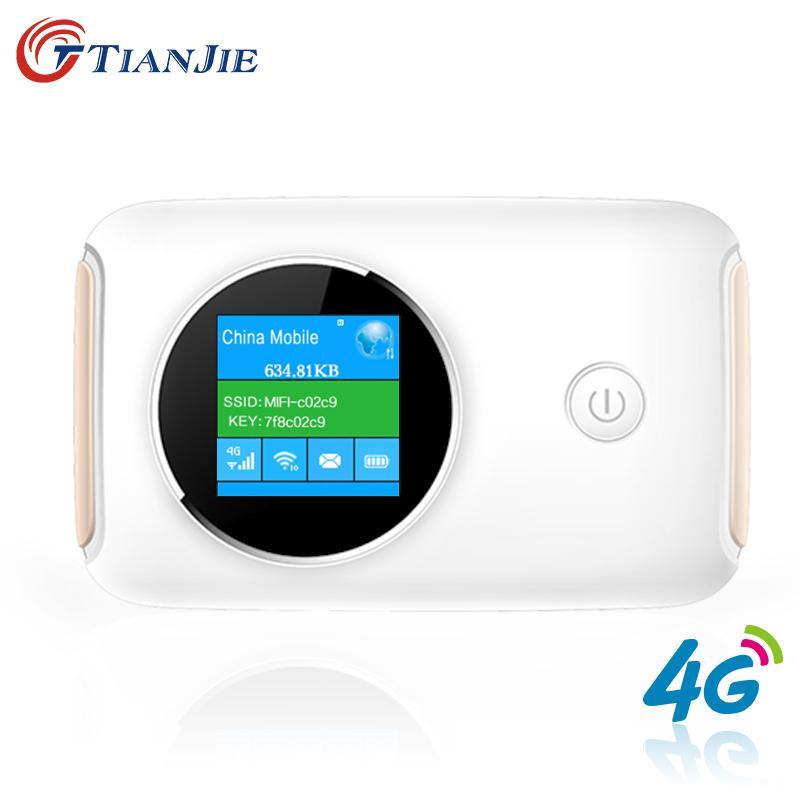 4G Wifi Router Car Mobile Wifi Hotspot Wireless Broadband Mifi ...