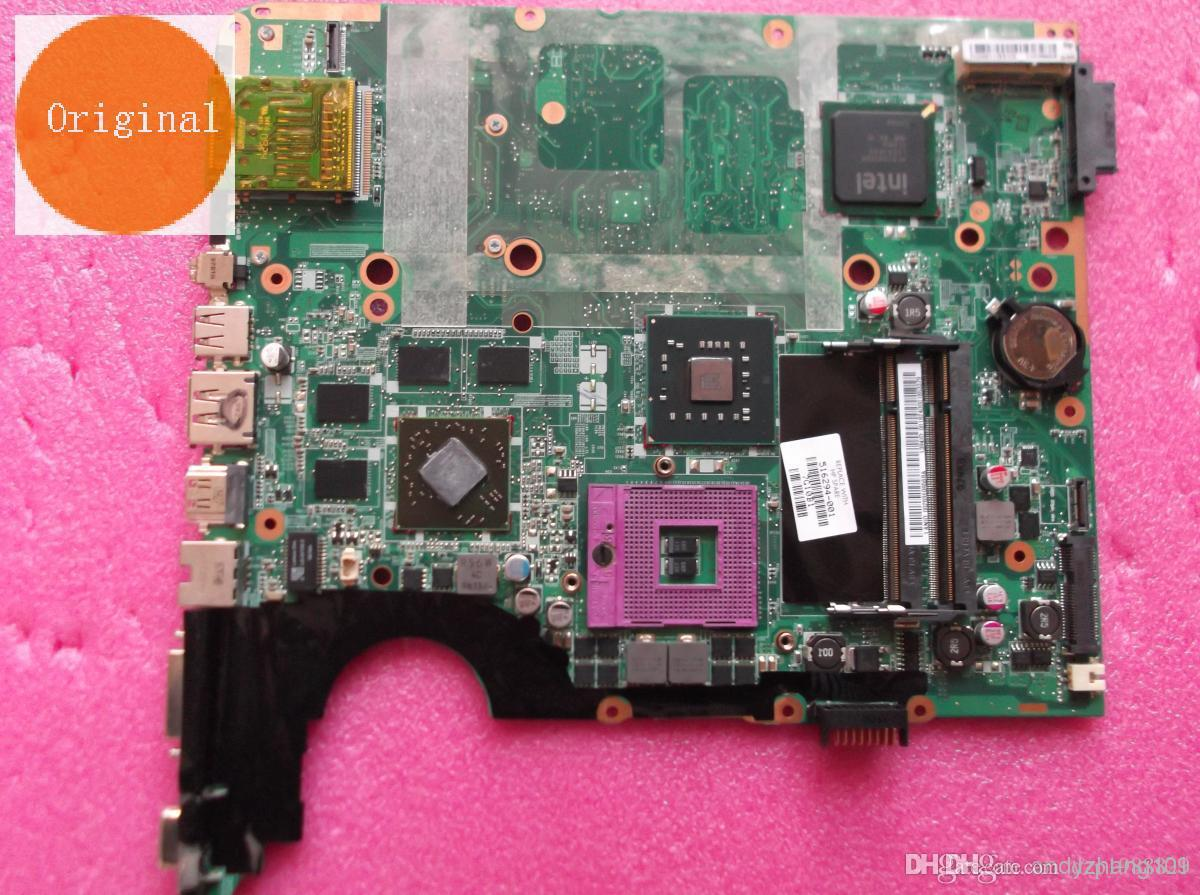 516294-001 placa para HP PAVILION DV7 placa base portátil DDR2 con chipset intel pm45