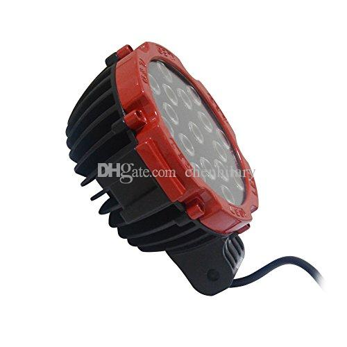 "News 7"" Inch LED Off-road Light,51W LED Work Light,12V/24V Driving On Truck, Atv,4WD,Boat,Mining,Forklifts working led lamps"