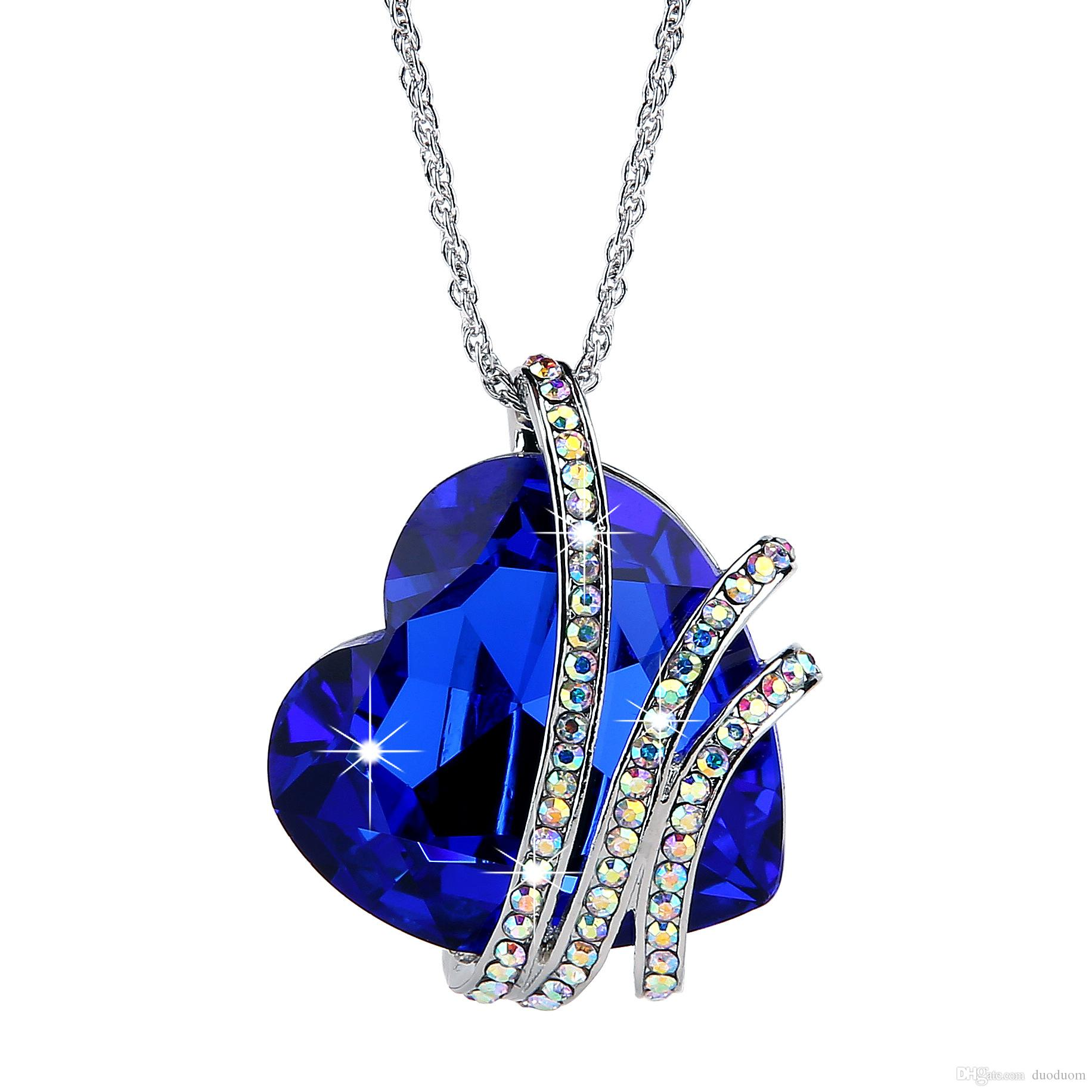 Wholesale Best Gifts Venice Love Heart Austria Crystal Women ...