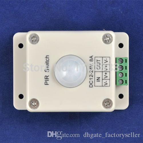 Wholesale LED light Human Body Induction Switch,led infrared detection sensor switch controller PIR Switch #TC45