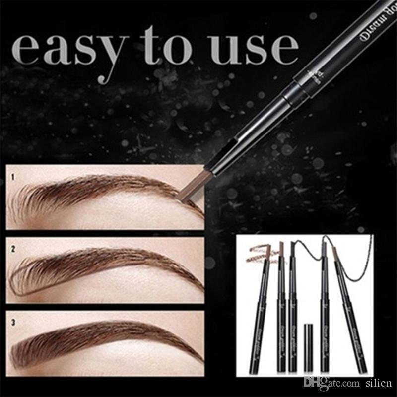 Wholesale - Wholesale-LANBENA Women&039;s Fashion Eyebrow Template Eye Brow Card Grooming Stencil Kit Shaping Shaper Make Up DIY Tools