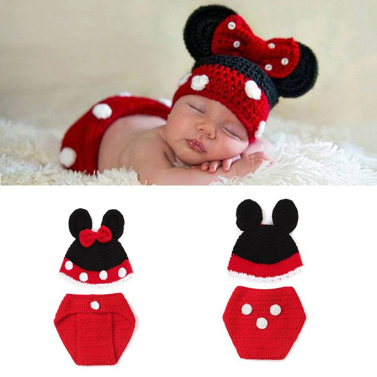 Cartoon photography props crochet baby boy costume knitted newborn baby outfits baby crochet hat beanie infant halloween costume bp113 doll clothing and