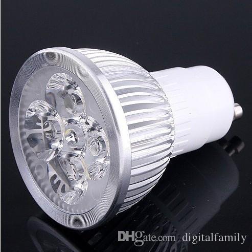 E14 E27 GU10 4W 높은 전력 4W 스팟 램프 AC85-265V 전구 램프 쿨 화이트 / 따뜻한 흰색 최고의 가격