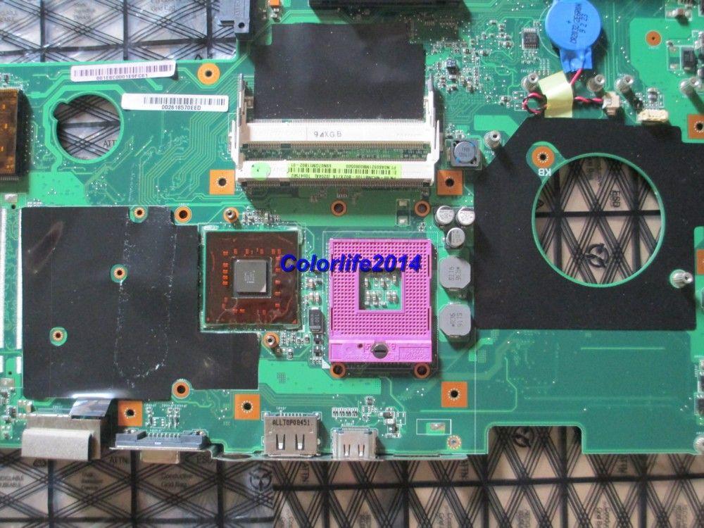 für ASUS X71A M70V rev 2.2 08G2A00MV22J Laptop Motherboard Systemplatine / Mainboard vollständig getestet funktioniert einwandfrei