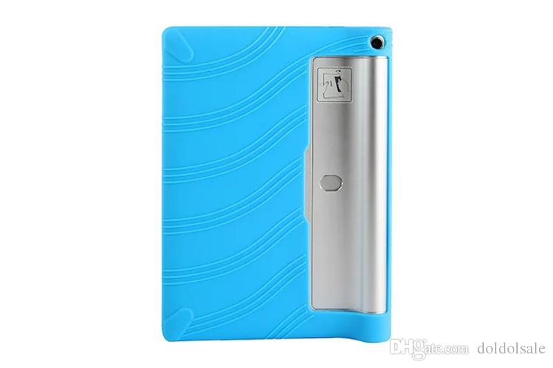 Soft Silicone Back Cover Case for Lenovo Yoga Tablet 2 830F 830L 830l 8 inch Tablet TPU Protective Case