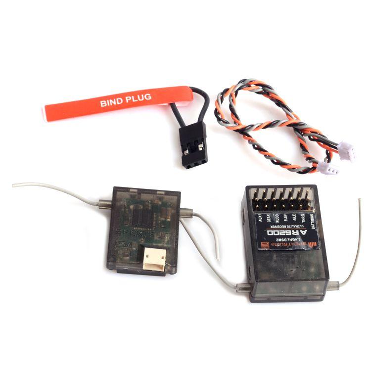 AR6210 Empfänger 6 Kanal mit Satelliten DSMX Empfänger Unterstützung JR und Spektrum DSM X und DSM2 syst Kostenloser Versand