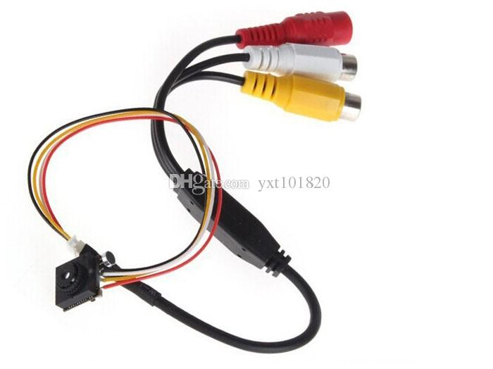 Pinhole camera HD 5MP 700TVL color video mini cctv FPV camera with audio surveillance cameras Module