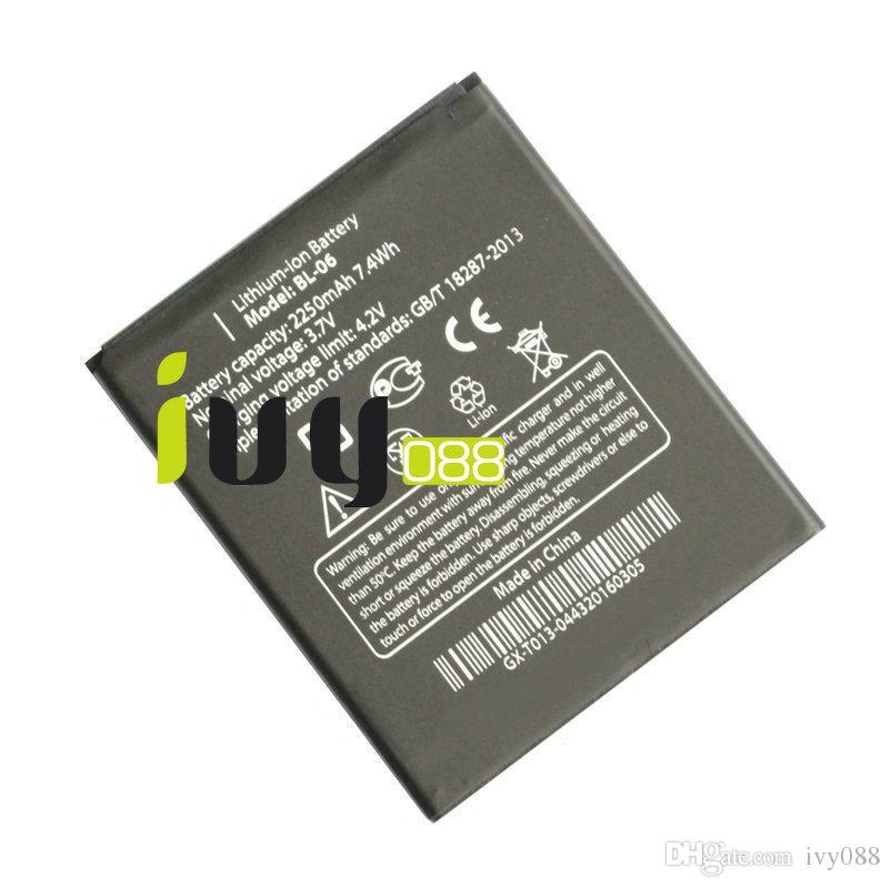 50 قطعة / الوحدة الأصلي BL-06 BL06 bl 06 2250 مللي أمبير بطارية ل thl t6s t6c t6 برو بطاريات الهاتف المحمول