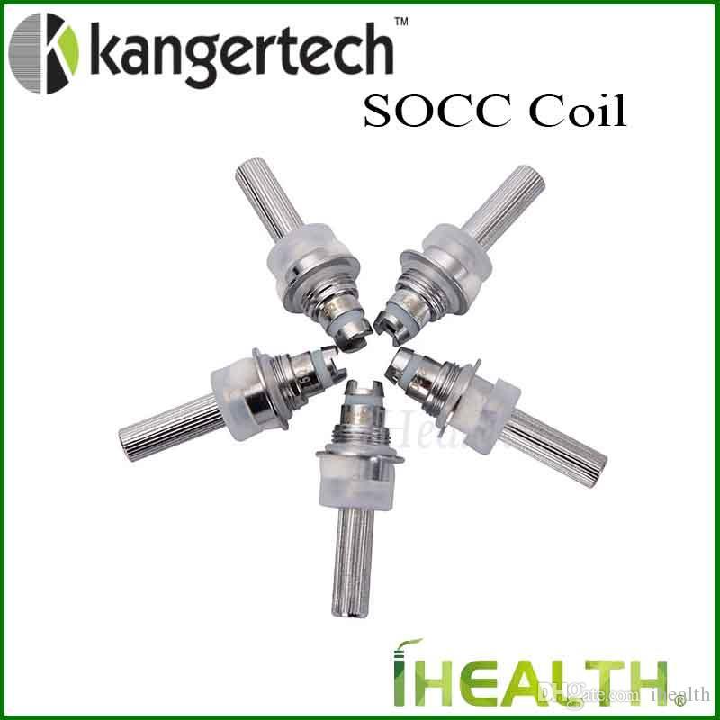 Kanger SOCC tête de rechange pour atomiseur Kangertech Protank 2 Mini EVOD 100% tête de bobine d'origine MT32 avec coton organique japonais