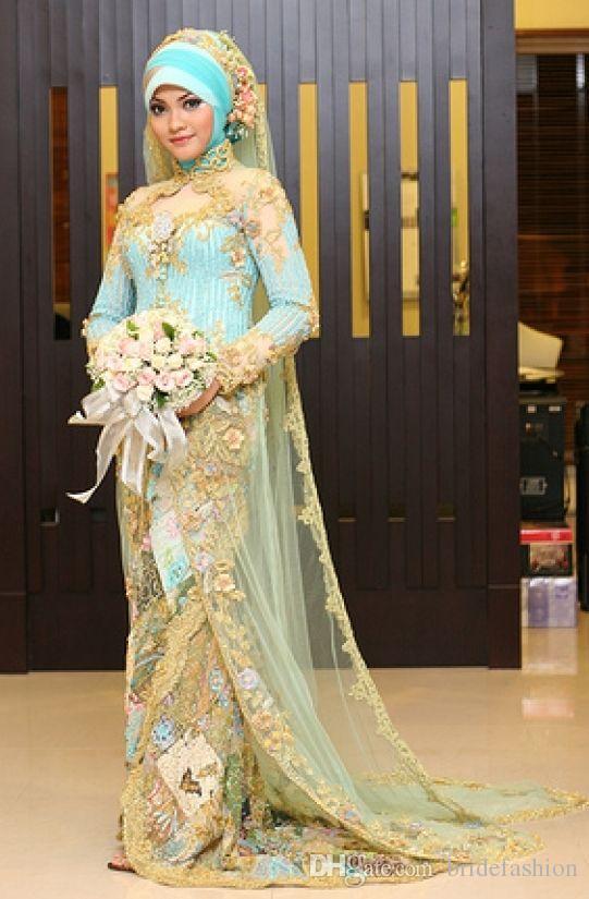Высокий воротник с длинным рукавом включает в себя вуаль из золотого кружева мусульманские арабские вечерние платья для гостей вечернее платье выпускные платья вечерние вечерние платья