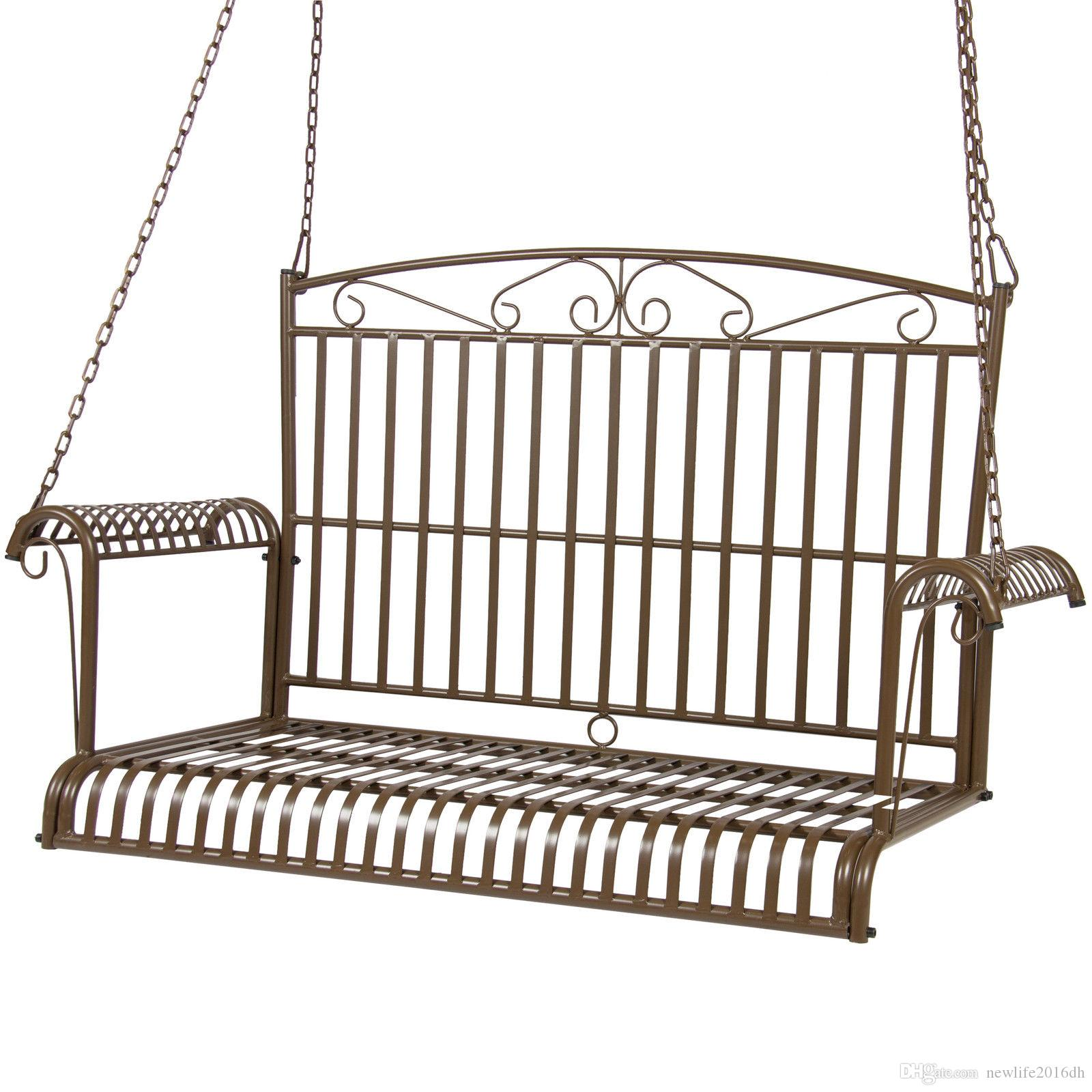 2018 Bcp Iron Patio Hanging Porch Swing Chair Bench Seat Outdoor Furniture  From Newlife2016dh, $80.41   Dhgate.Com