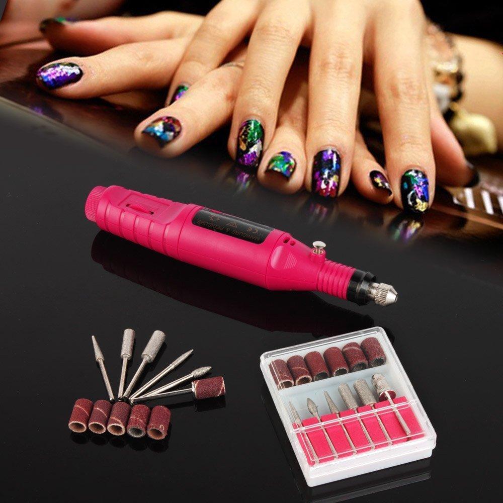 Factory Price!!portable Manicure Pedicure Set Pen Shape Electric ...