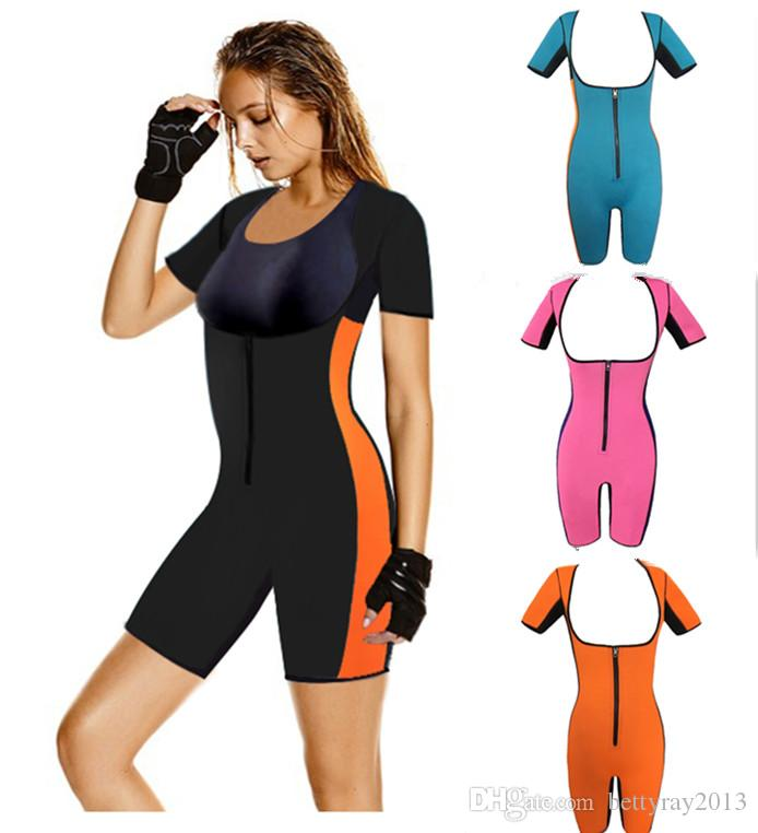 5d92886cbe878 2019 Neoprene Body Shaper Women Workout Sports Suit Modeling Strap Shaper  Full Coverage Waist Trainer Slimming Shapewear Hot Shapers From  Bettyray2013