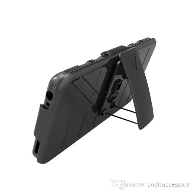 360 grad rotierenden rüstung harte pc silikon case für lg g6 v20 styus stylo 3 2 plus ms550 k530 clip gürtel hybrid stehen 3 in 1 abdeckung haut 1 stücke