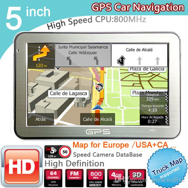 2018 5 Inch Car Gps Navigator Fm8gbddr128m Best For Igo Us: Best Gps With Us And Europe Maps At Infoasik.co