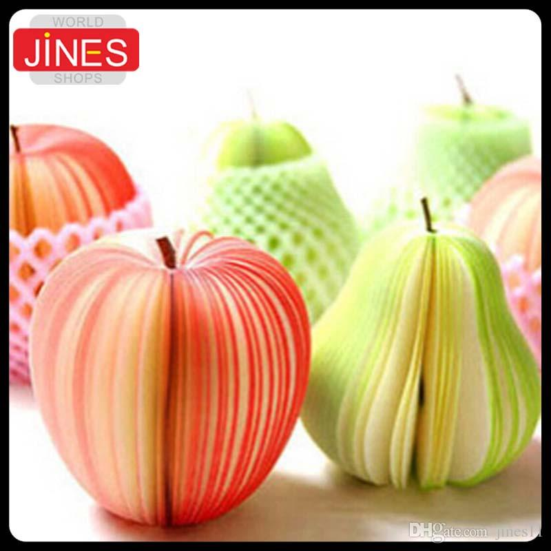 Fruit Note Memo Pads Portable Scratch Paper Notepads Post Shape Notepads Papelaria