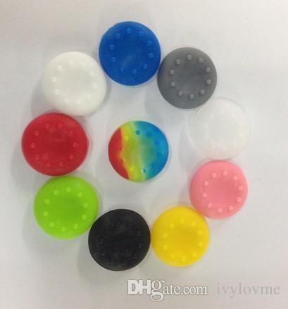 / Silicone anti-dérapant miniatures capuchons capuchon de pouce baguettes Joystick couvre la couverture de poignées pour PS3 / PS4 / XBOX ONE / XBOX 360 contrôleurs