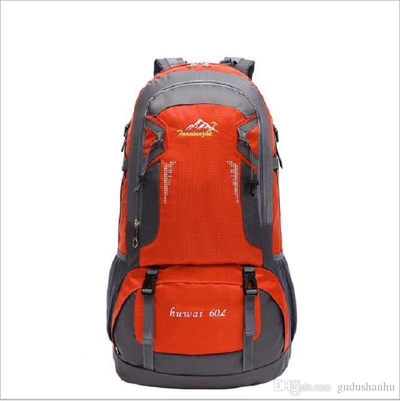 다시 팩 하이킹 배낭 자전거 배낭 여행 60L 2016 새로운 아웃 도어 등산 가방
