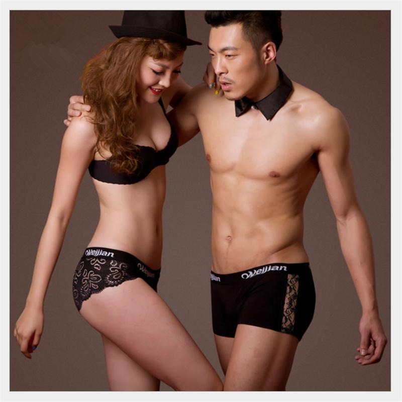 Fashion Lace Underwear For Men And Women Men S Underwear Boxers + Women  Briefs Sexy Transparent Men Boxer Couples Underwear Canada 2019 From  Yvonnefeng 1988 ... 8795a16e7