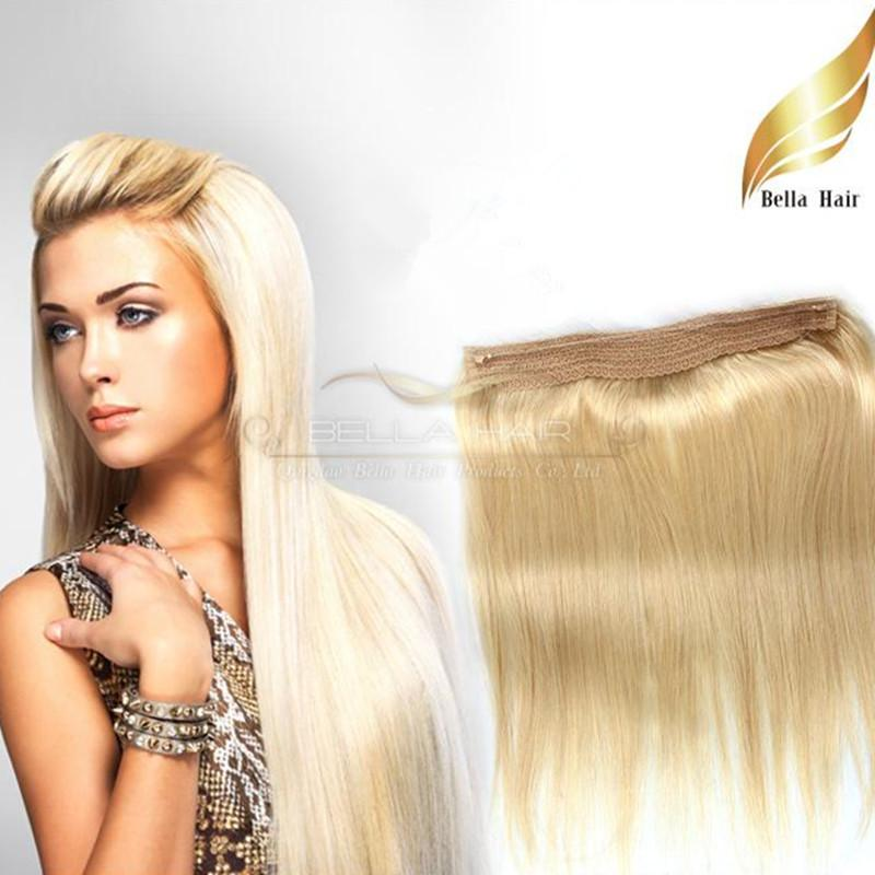 Cheap Remy Hair 613 Blonde Flip In Extensions Straight Brazilian Human 100g Piece By DHL