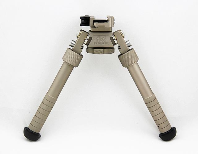 ACI B&T Industries BT10 LW17 V8 Atlas Bipod QD Tactical 6 5 - 9 inch  Adjustable with quick release Dark Earth