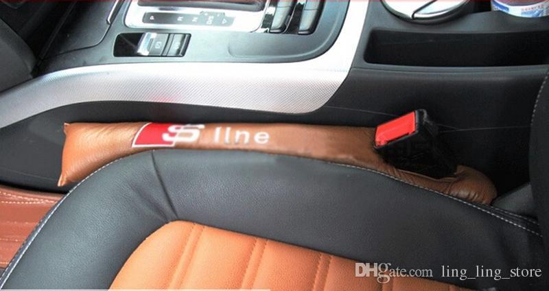 자동차 시트 틈새 혼잡 인테리어 시트 커버 자동차 Leakproof 보호 슬리브 솔기 아우디 A1 A3 A4 자동차 인테리어 스타일링