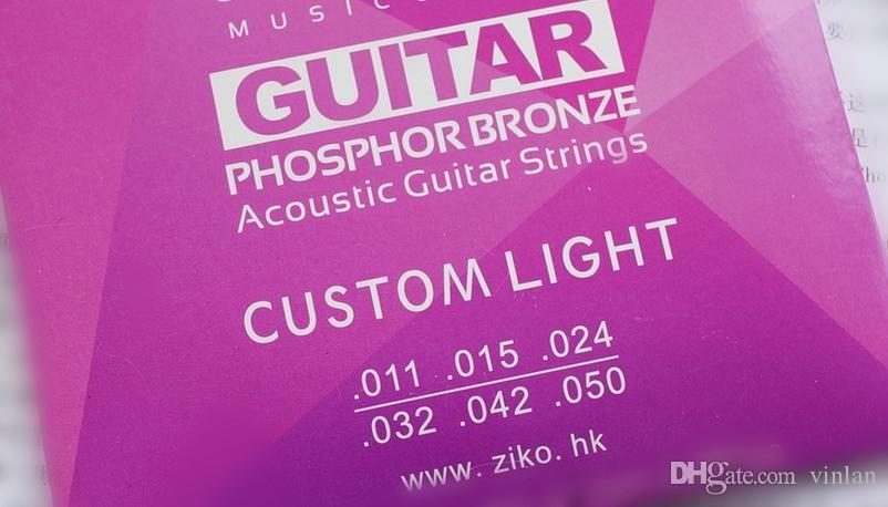 ZIKO 011-050 Acoustic guitar strings musical instruments Accessories guitar parts
