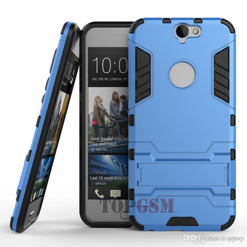 low priced 8ccc9 1fe1b HTC One A9 Case Heavy Duty Shock Lightweight Kickstand Slim Fit Hybrid Dual  Layer Armor Defender Case Cover for HTC One A9 Free Shipping