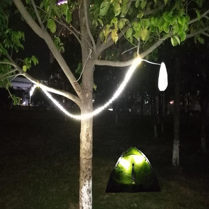 Wholesale led rope lights for camping hiking safety emergencies wholesale led rope lights for camping hiking safety emergencies portable luminoodle led string light that doubles as an led lantern christmas light aloadofball Images
