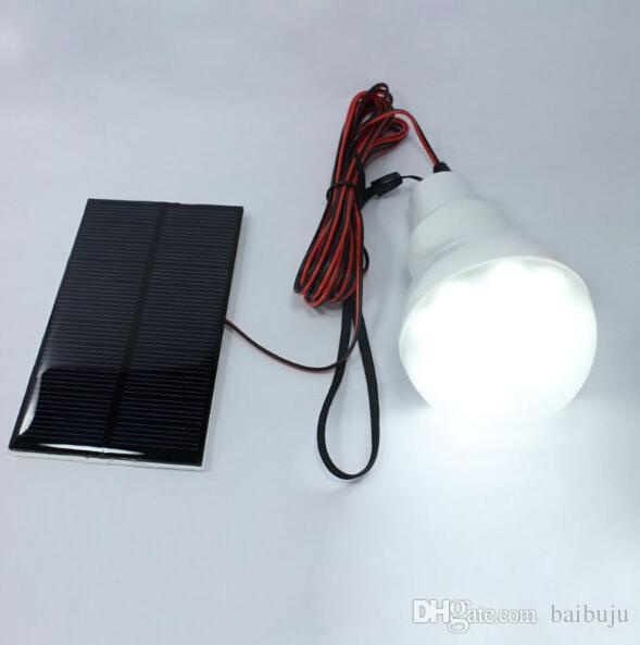 Portable énergie solaire LED ampoule tente de pêche en plein air tente de pêche LED livraison gratuite