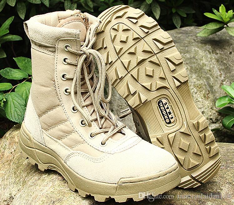 2016 männer SWAT Taktische Stiefel Military Desert Tactical Schuhe Outdoor Kampfstiefel größe 39-45