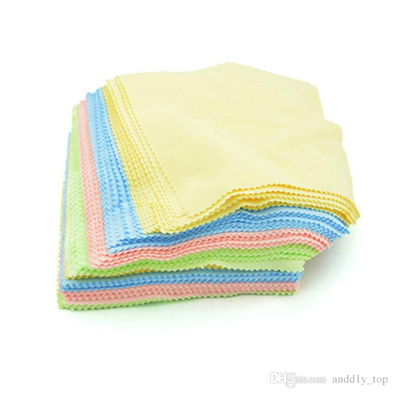 Superfine fiber Glasses Cloth lens Cleaning Cloth sunglass cloth eyewear Microfiber lens Cleaning Cloths mixted 14*14cm