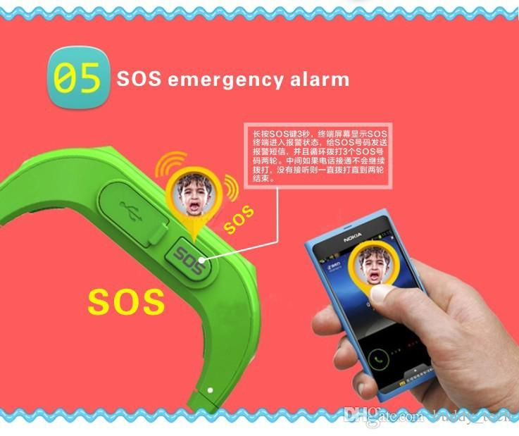 Smart Watch Q50 Children Smart Watch GPS SOS Call Location Finder Locator Tracker for Andriod IOS Free DHL