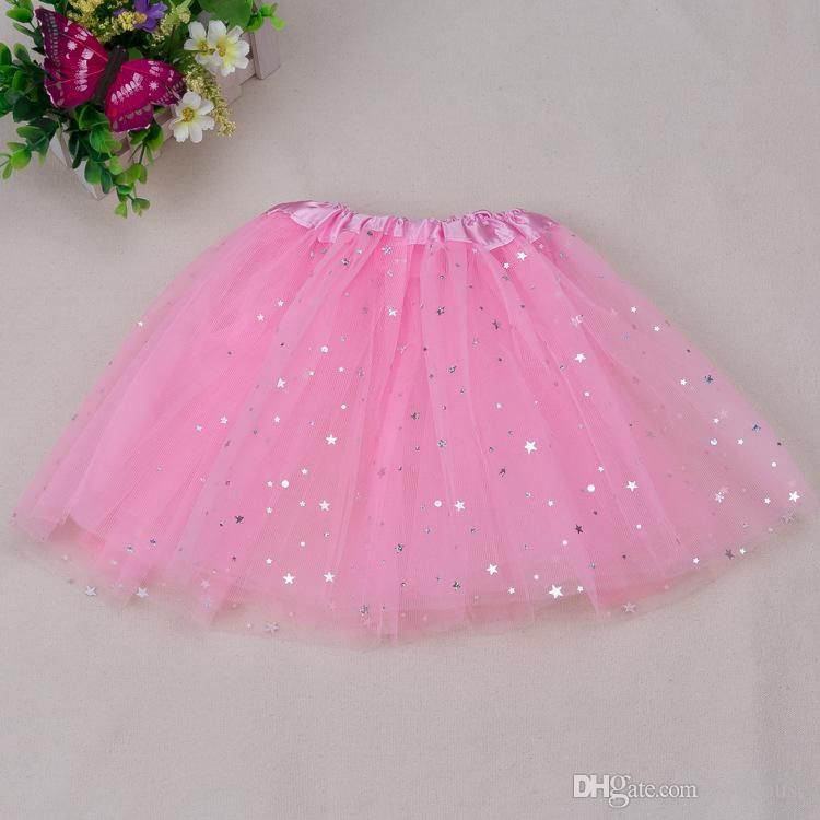 hot selling girls glitter ballet tutu skirt for babys fluffy tutu skirt pretty skirt for girls Ballet tutu skirt