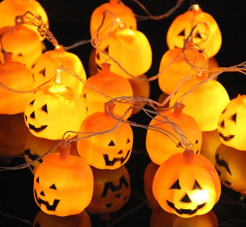 2017 250cm hanging halloween pumpkin lantern string light 16 leds ac220v orange pumpkin lights halloween holiday decor from lampslanterns 1357 dhgate - Halloween Pumpkin Lights